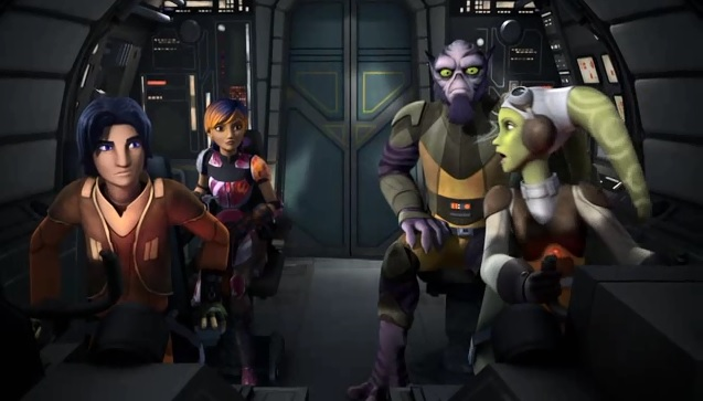 Star Wars Rebels  Episode 2 - Droids in Distress